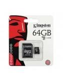 Kingston MicroSD memóriakártya 64GB Class 10