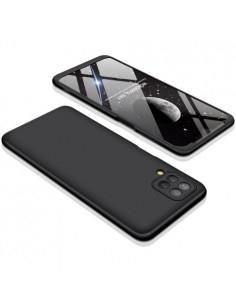 GKK három részes tok Samsung Galaxy A12 készülékhez - FEKETE