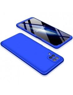 GKK három részes tok Samsung Galaxy A12 készülékhez - KÉK