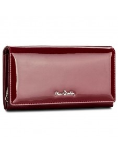 Pierre Cardin valódi bőr piros pénztárca - 19 x 10 cm - 05LINE106