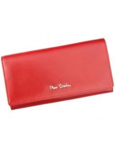 Pierre Cardin valódi bőr piros pénztárca - 18.5 x 10 cm - 01LINE102