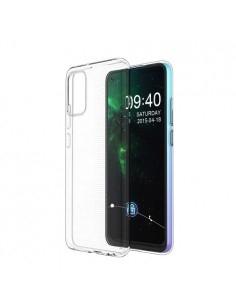 Rugalmas TPU tok Samsung Galaxy A02s készülékhez - ÁTTETSZŐ