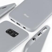 ROAR JELLY rugalmas tok Samsung Galaxy A52 5G / A52 készülékhez - SZÜRKE