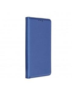 SMART szilikon keretes könyvtok Samsung Galaxy A72 5G / A72 készülékhez - KÉK