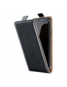 SLIM FLEXI Flip tok Samsung Galaxy A52 5G / A52 telefonhoz - FEKETE