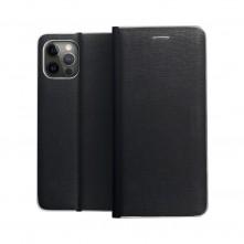 FORCELL LUNA tok Samsung Galaxy A72 5G / A72 telefonhoz - FEKETE-EZÜST