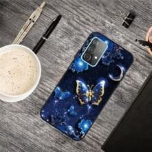 Rugalmas TPU tok Samsung Galaxy A72 5G készülékhez - PILLANGÓK