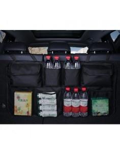 Multifunkciós autó hátsó üléshez csatolható rendező - FEKETE