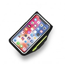 Karra csatolható telefontok futáshoz - 18*10 cm - FEKETE
