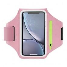 Karra csatolható telefontok futáshoz - 18*10 cm - PINK