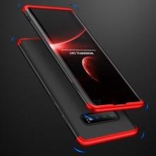GKK három részes tok Samsung Galaxy S10 Plus készülékhez - FEKETE - PIROS