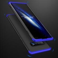 GKK három részes tok Samsung Galaxy S10 Plus készülékhez - FEKETE - KÉK