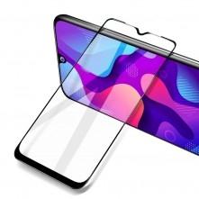 Full glue Xiaomi Redmi Note 10 5G kerámia fekete hajlított 5D előlapi üvegfólia
