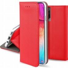 SMART szilikon keretes könyvtok Samsung Galaxy A22 5G készülékhez - PIROS